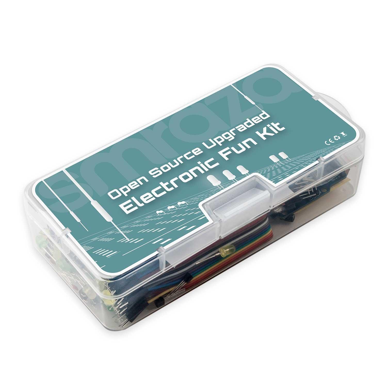 Smraza Basic Starter Kit with Breadboard,Power Supply,Jumper Wires ...