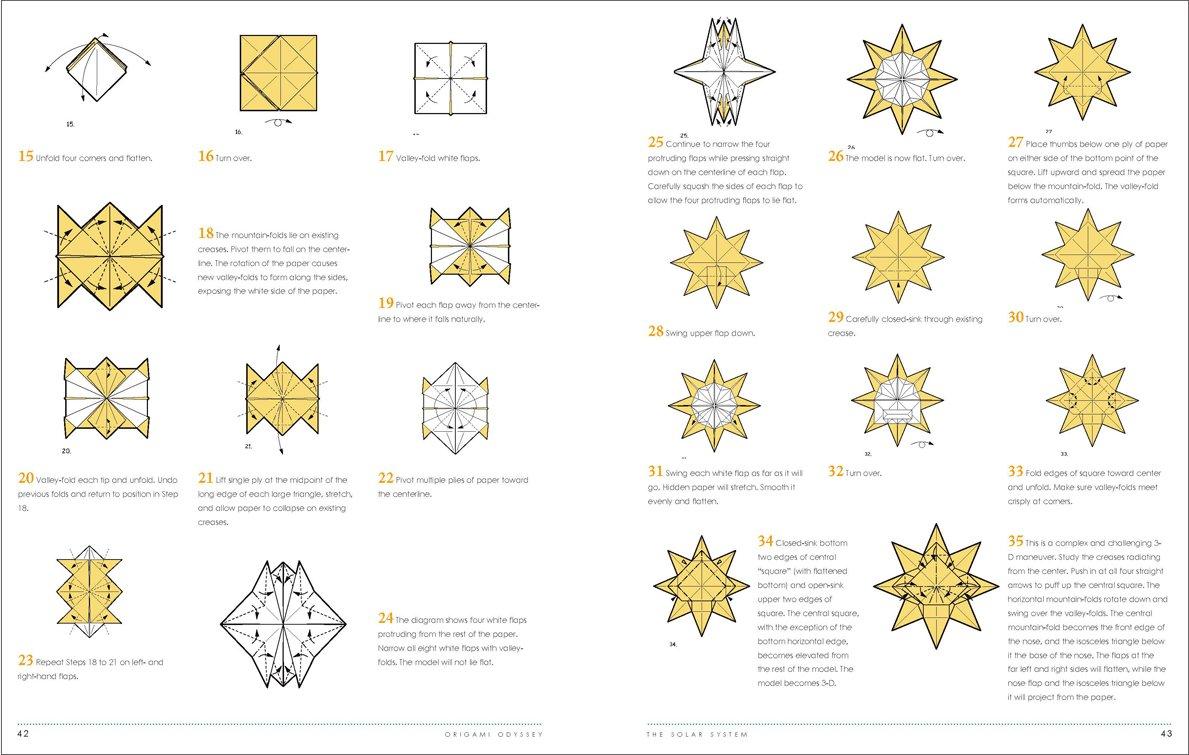 moving origami: origami sun   755x1189