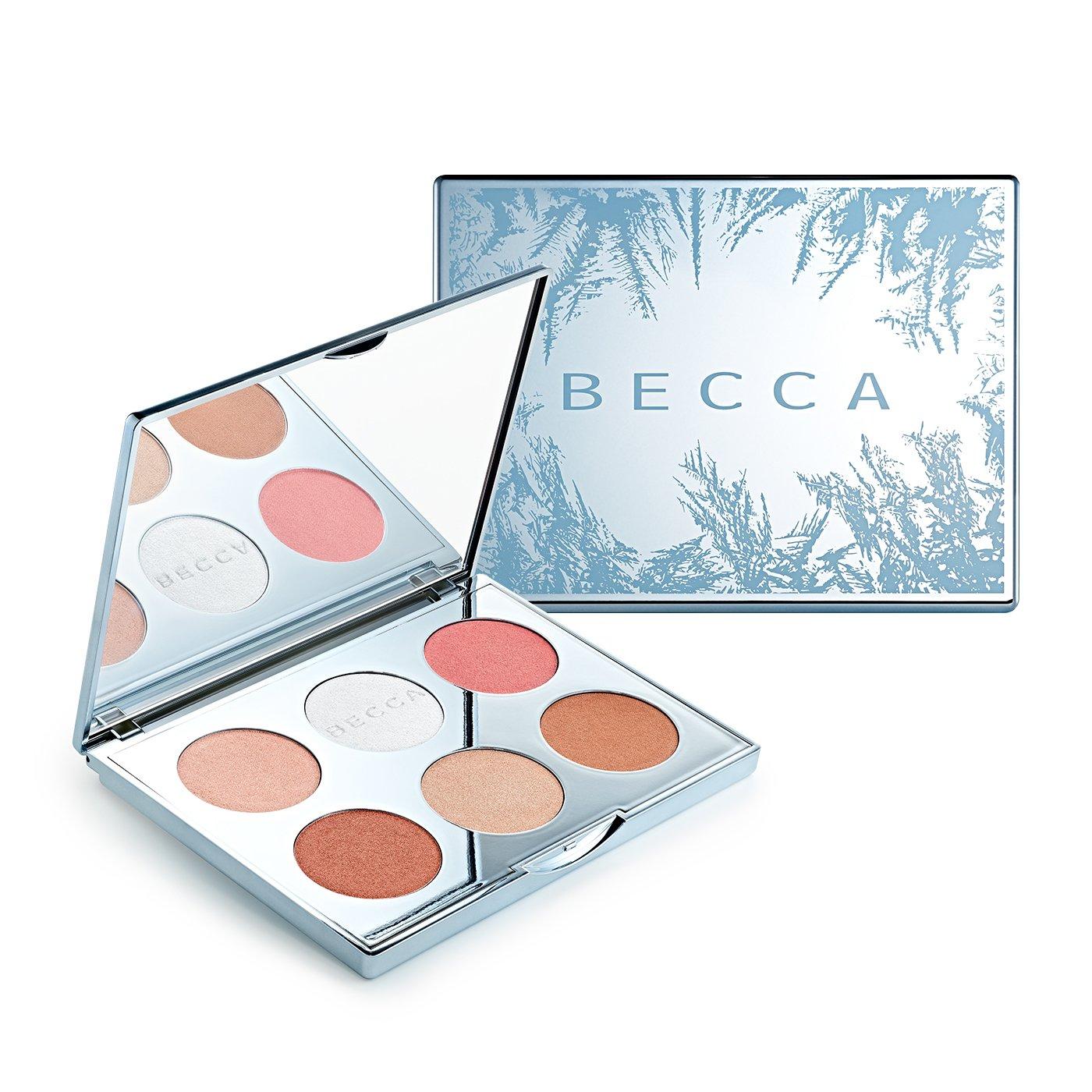 Amazon.com: Becca Apres Ski Glow Face Palette - 6 x 0.09 oz: Beauty