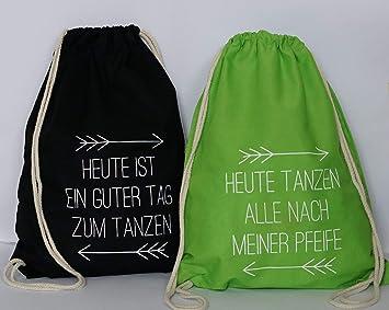 Turnbeutel Gymbag schwarz Sportbeutel Spruch Read a Book Sporttasche neongrün