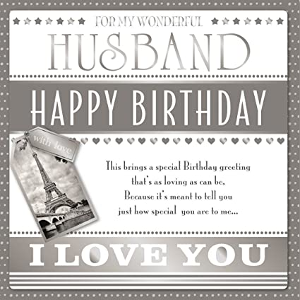 Wonderful Husband Happy Birthday