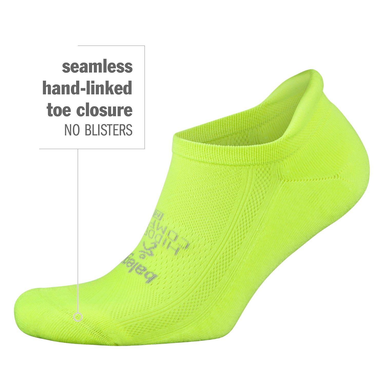 Balega Hidden Comfort No-Show Running Socks for Men and Women (1 Pair), Charcoal, Large by Balega (Image #7)