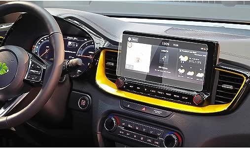 RUIYA Kona/Ceed X - Protector de pantalla de cristal templado para 2019 2020 Kona/Ceed X Navigations System, protector de pantalla HD [10,25 pulgadas): Amazon.es: Electrónica
