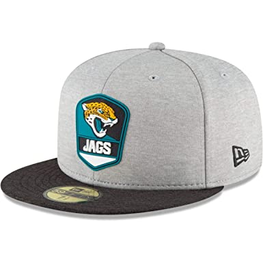2be213f2d9a New Era Jacksonville Jaguars NFL Sideline 18 Road On Field Cap 59fifty  Fitted OTC
