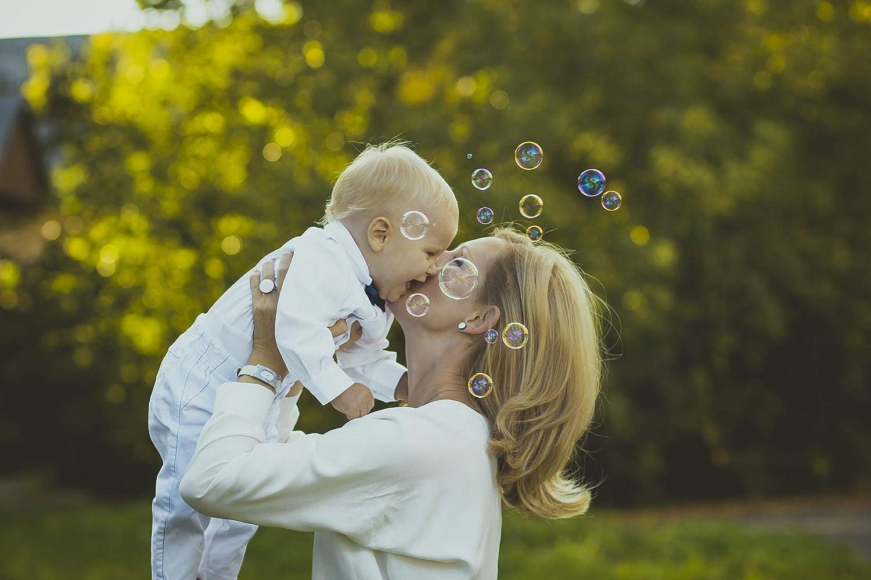 MAVANTO/® Seifenblasen Hochzeit 64 St/ück gef/üllt im praktischen Eimer Wedding Bubbles Set die perfekte Deko f/ür unvergessliche Momente