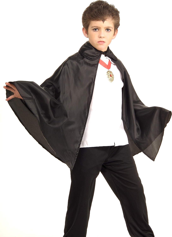 Rubies 30-Inch Black Fabric Cape