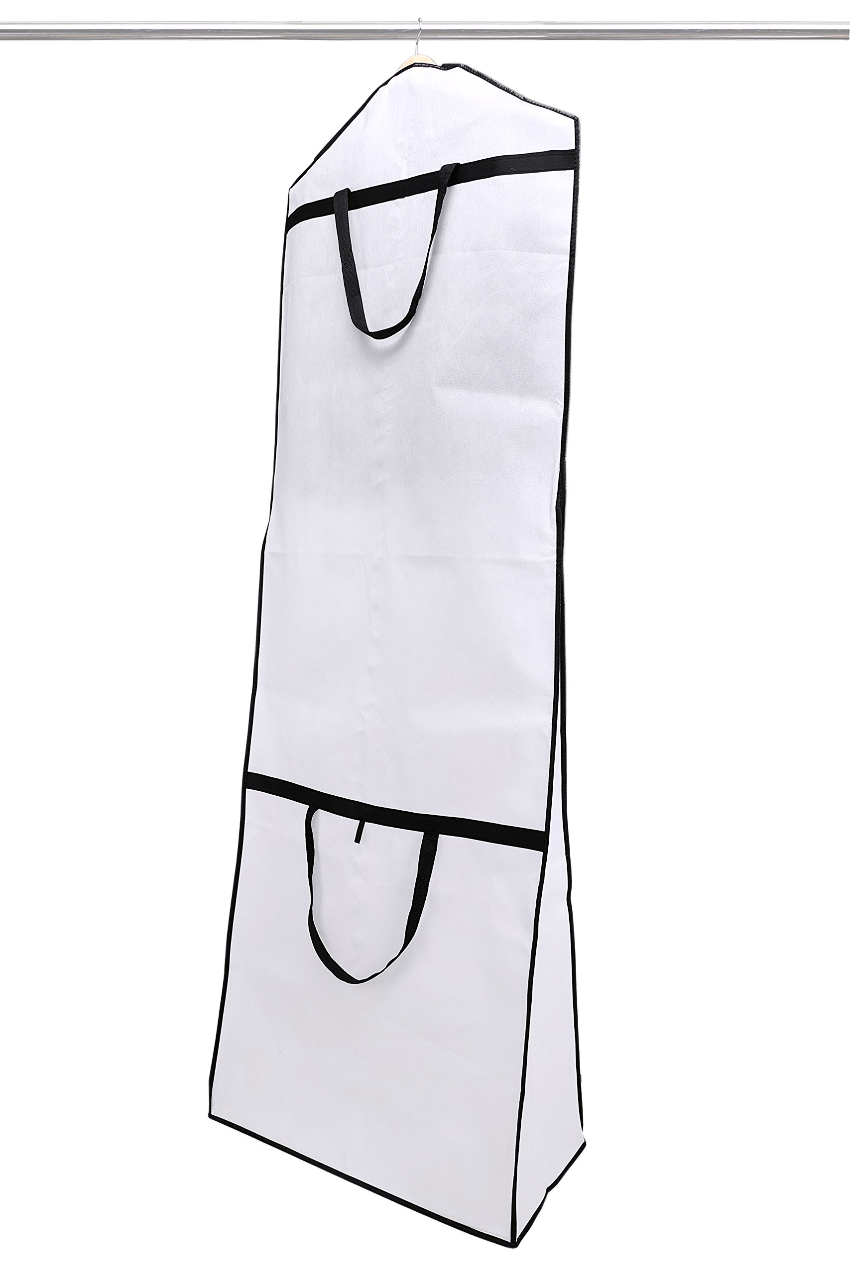 Wedding Gown Dress Garment Bag with Gusset 72''