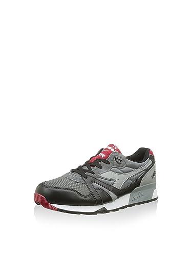 Diadora Sneaker N9000 L S NeroGrigioRosso EU 47 (12 UK