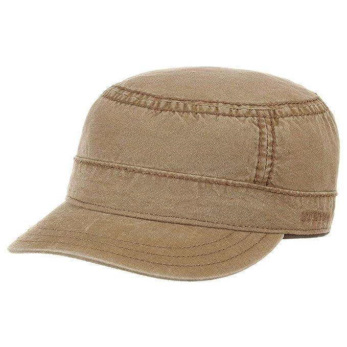 Stetson Parker Cotton Army cap Uomo  017d72d0a162