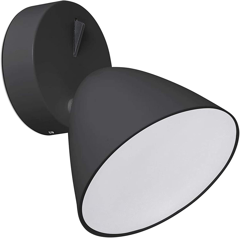 /Flash Wandleuchte schwarz 1/x LED 10/W 3000/K Unbekannt Leuchtturm 20204/
