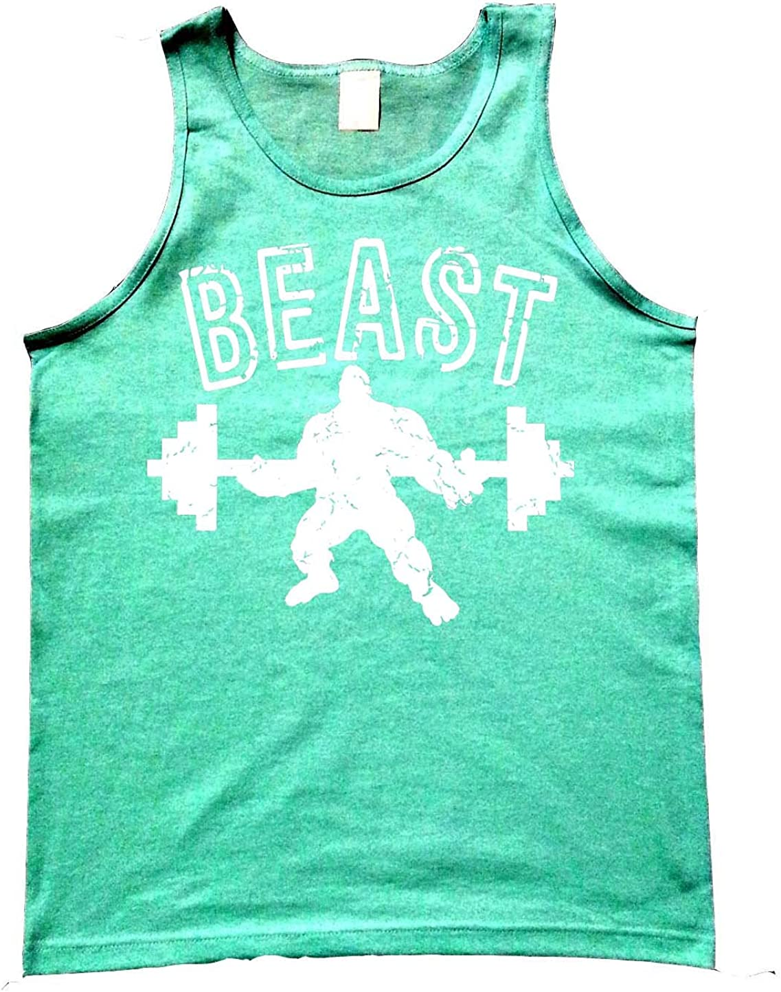 Interstate Apparel Mens Red Beast Blue Mesh Gym Shorts