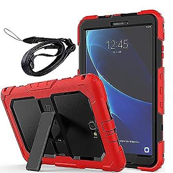 f5ef2c7c1e9 Newseego Compatible con Funda Samsung Galaxy Tab A6 10.1 '', Estuche de  Cuerpo Entero