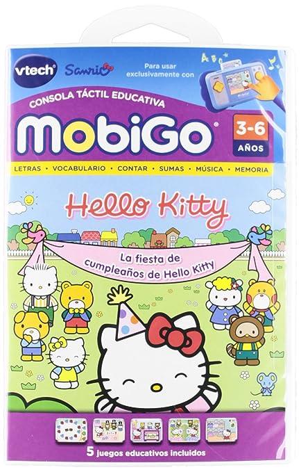 Vtech Juego MobiGo Hello Kitty - En Espanol