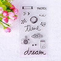 Hangaga Creativo DIY Silicone Seal Personality Design Seal
