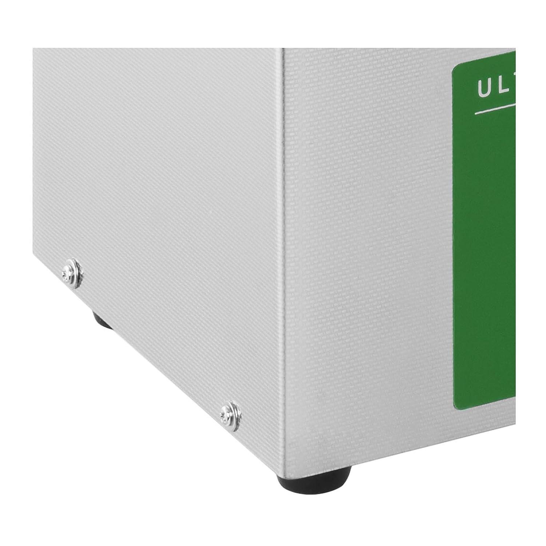 Ulsonix PROCLEAN 3.0ECO Nettoyeur Ultrason Professionnel Bac Ultrason Nettoyage Ultrason 3 L, Puissance dUltrason 80 W, Puissance de Chauffe 155 W, 40 kHz, Minuterie 60 min, Acier Inoxydable