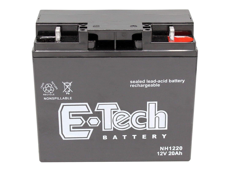 Gel-Batterie 12V 20Ah passend Stiga Estate 2084 Rasentraktor