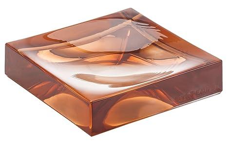 Kartell boxy porta sapone rosa nude  cm amazon