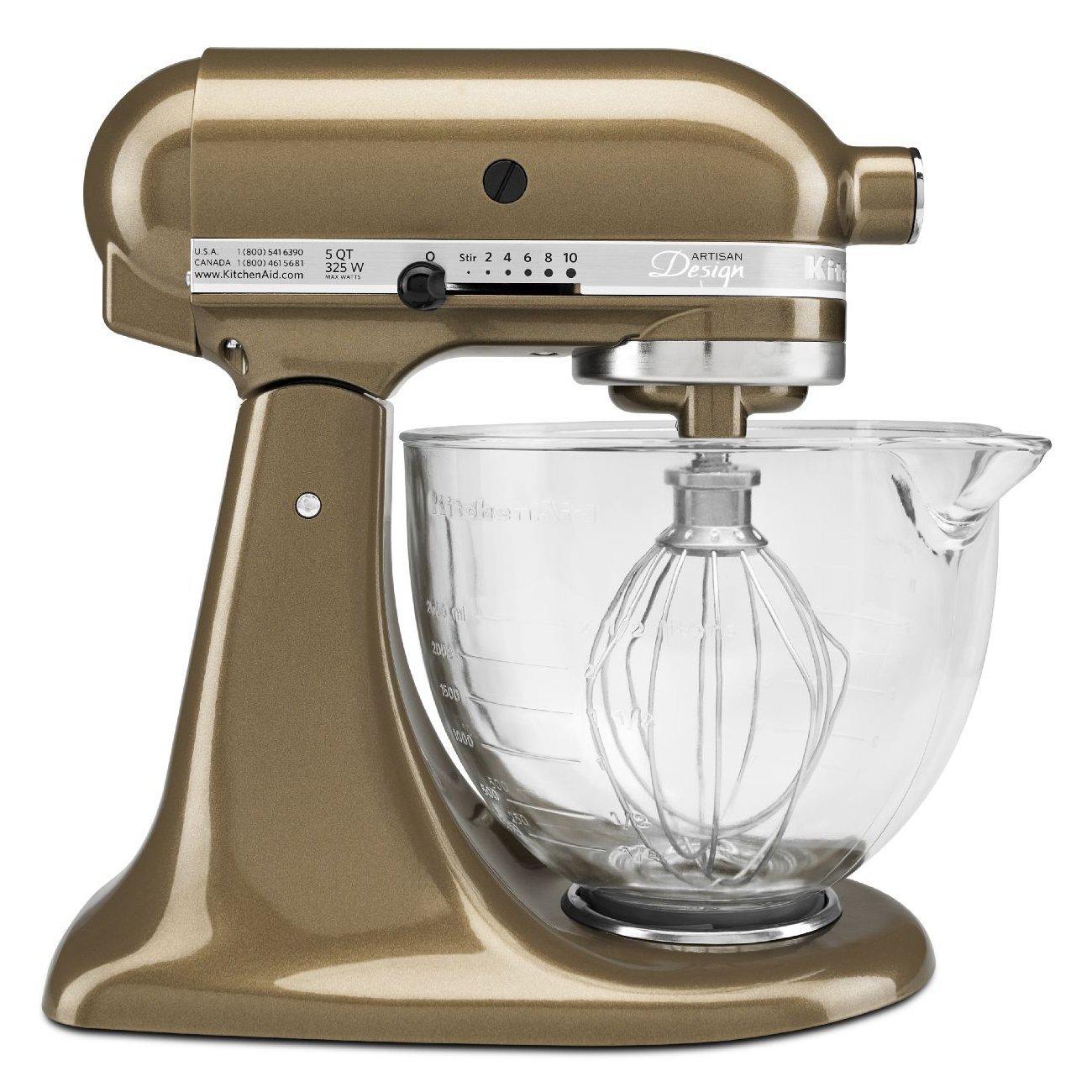 amazon com kitchenaid ksm155gbtf artisan design series with glass rh amazon com