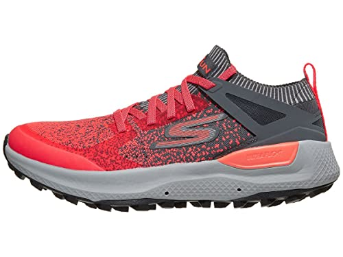 d0ee9eed66b Skechers Performance Men s Go Run Max Trail 5 Ultra Charcoal Orange 10.5 D  US D