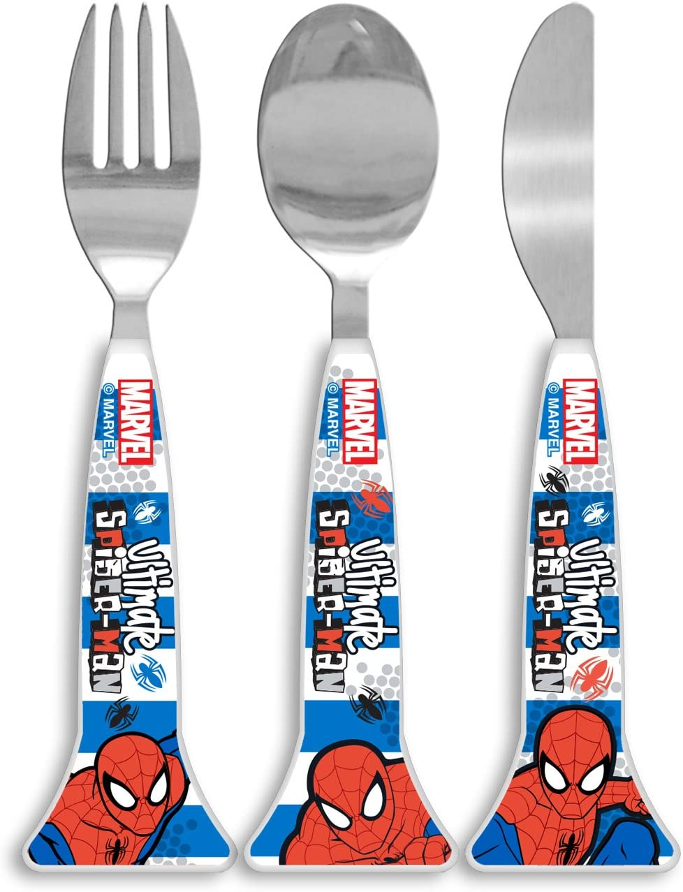 Marvel Ultimate Spider-Man 3 Piece Cutlery set age 3