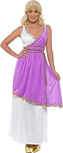 Smiffys Grecian Goddess Costume Disfraz de Diosa Griega, Color ...