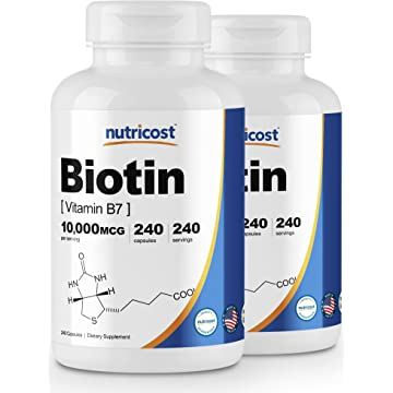 top selling Nutricost Biotin