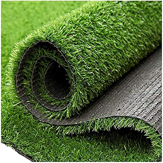 WJ Simulación Césped Plástico Artificial Jardín de Infantes Techo Actividades al Aire Libre Decoración Estera Verde Césped Artificial Falso Alfombra al Aire Libre (Color : T 2.5cm, Size : 2 * 3m): Amazon.es: Jardín