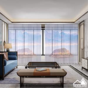 MOOCOM Mead Lake Hoover Dam,Room Curtains for Bedroom 2 Panel Las Vegas Room Curtains for Bedroom 118'' W x 106'' H
