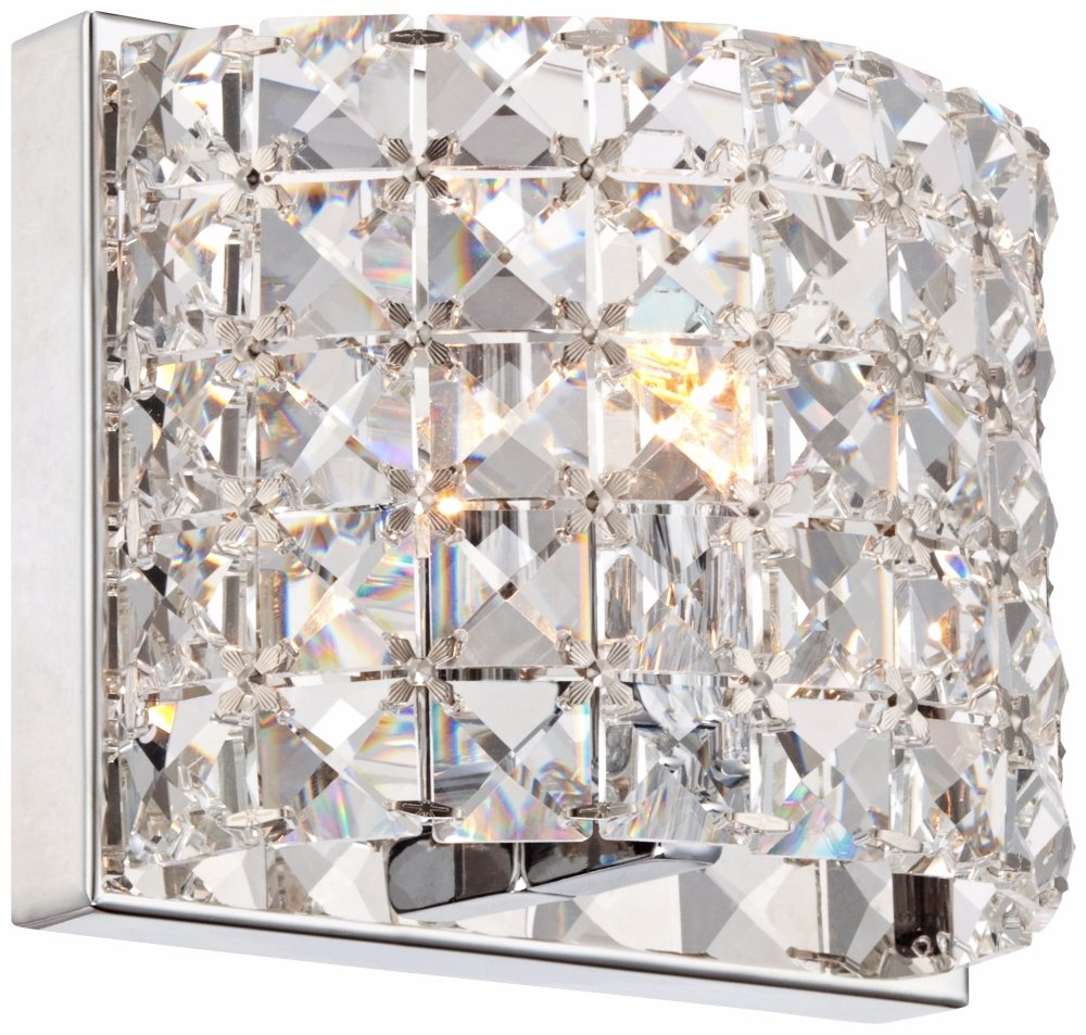 Vienna full spectrum cesenna 5 high crystal wall sconce vienna full spectrum cesenna 5 high crystal wall sconce amazon amipublicfo Choice Image