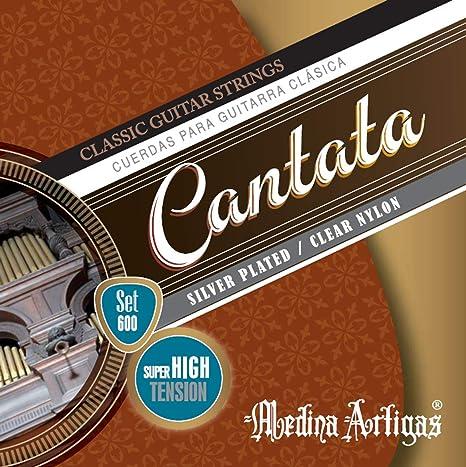Medina Artigas 600 Cuerdas para guitarra clásica - Cantata ...