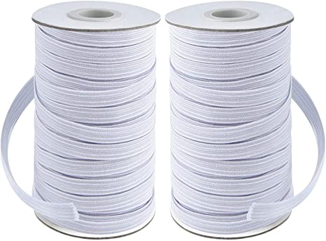Amazon Com Coopay 80 Yards Length 1 4 Width Elastic Cord Elastic