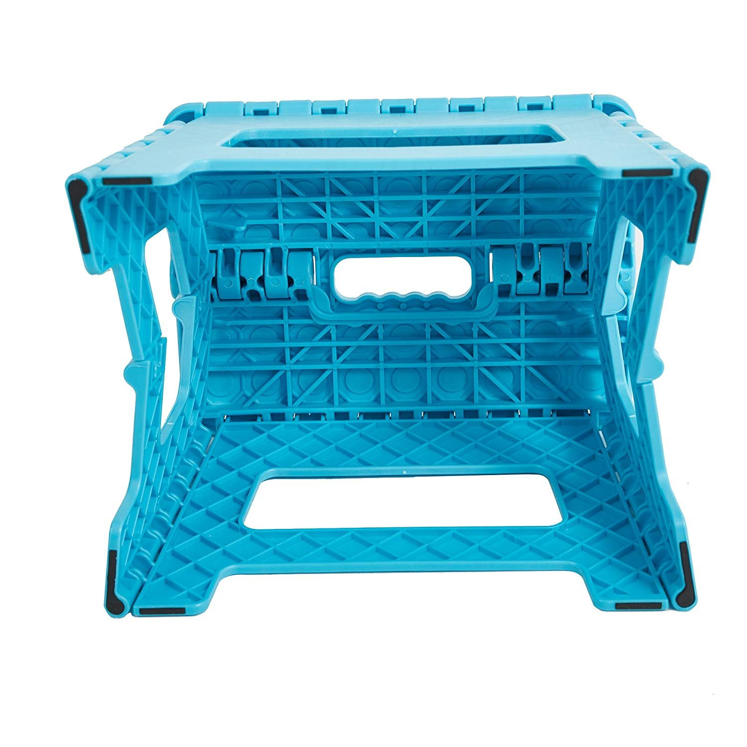 Dporticus Super Strong Folding Step Stool with Handle 300 LB Capacity for Adults Garden Kitchen Bathroom Toddlers and Kids