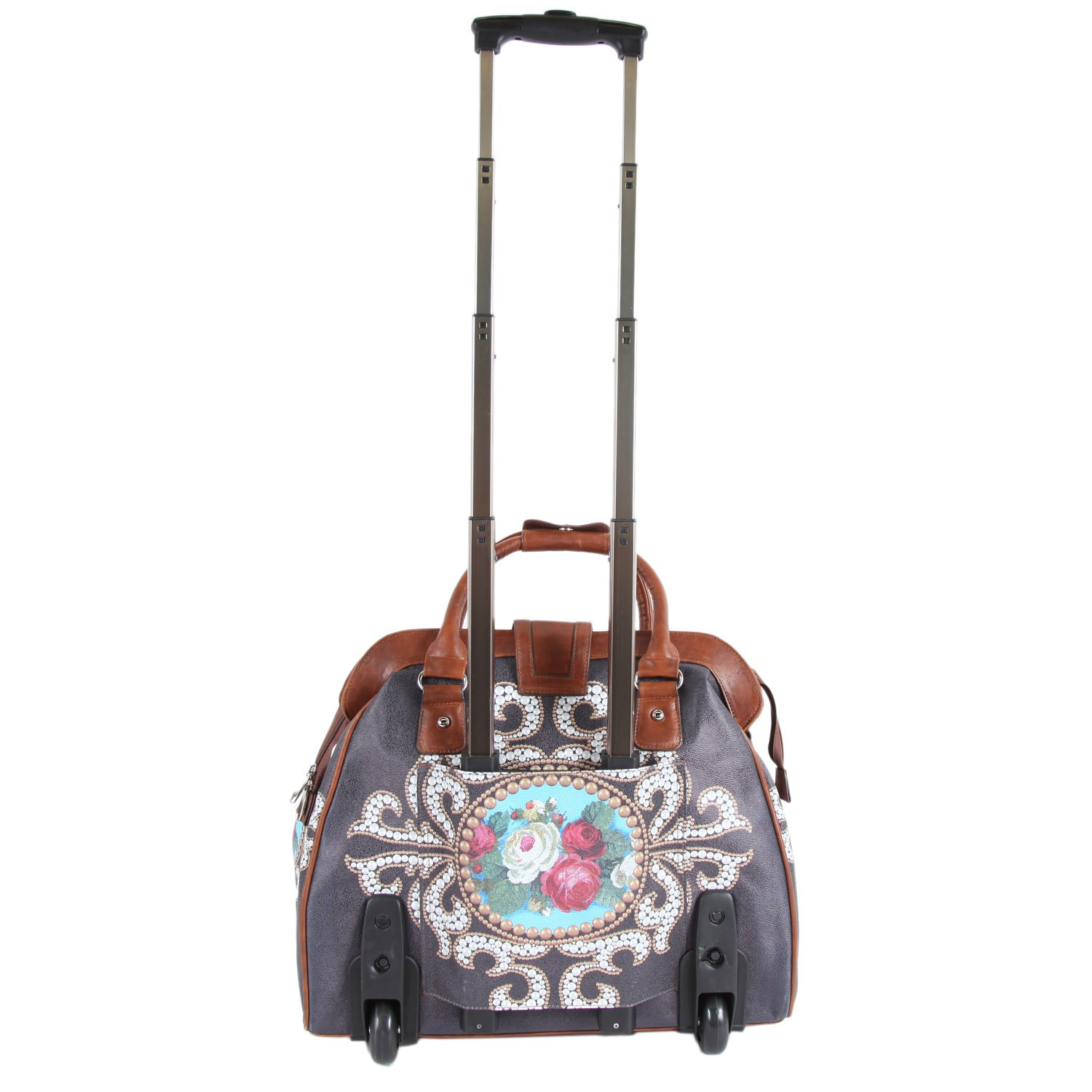 Nicole Lee Cheri Rolling Business Tote, Rose Pearl, One Size by Nicole Lee (Image #2)