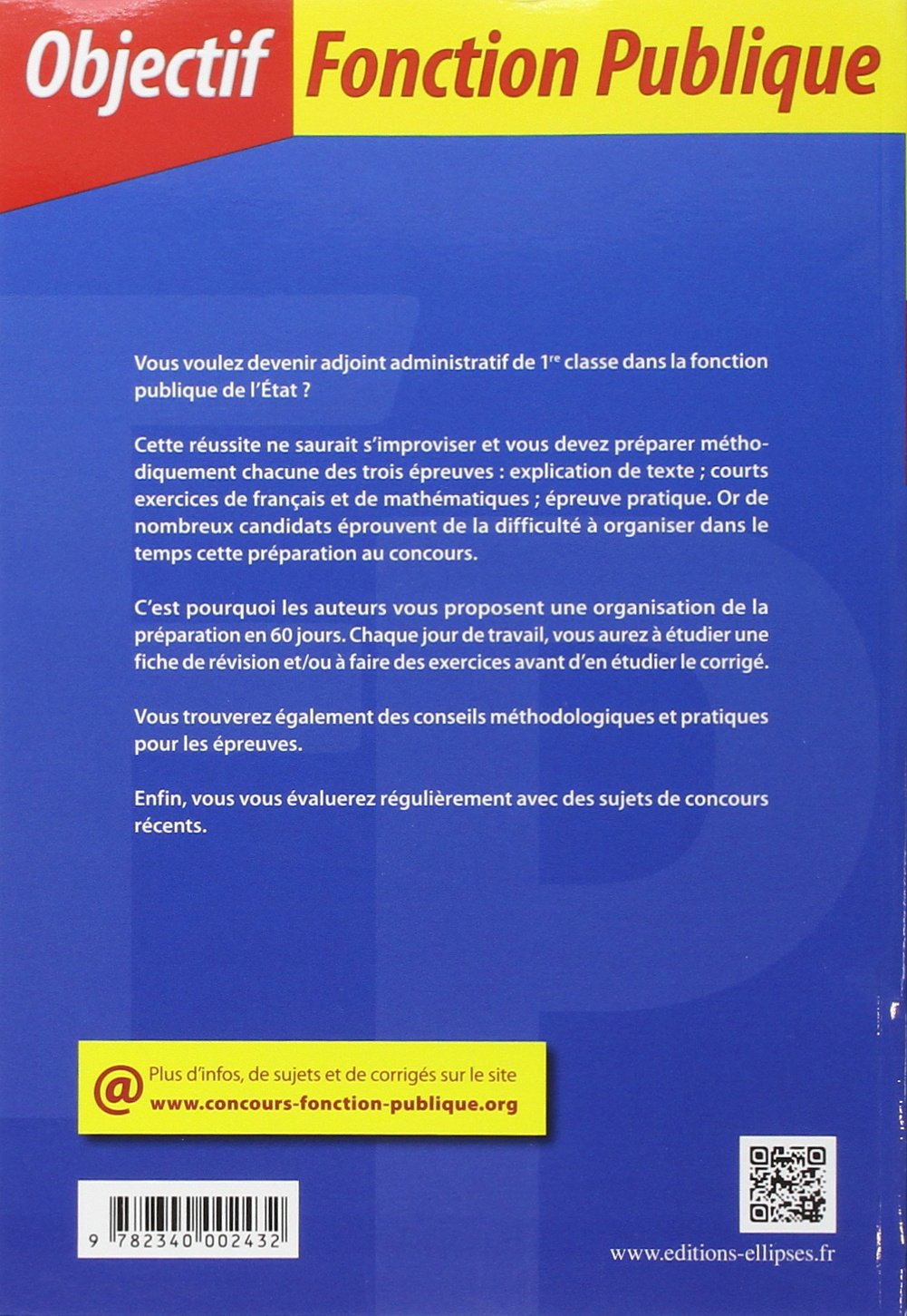 6019aaa6650 Amazon.fr - 60 Jours pour Devenir Adjoint Administratif de l État de 1re  Classe Tout en 1 Catégorie C - Philippe-Jean Quillien