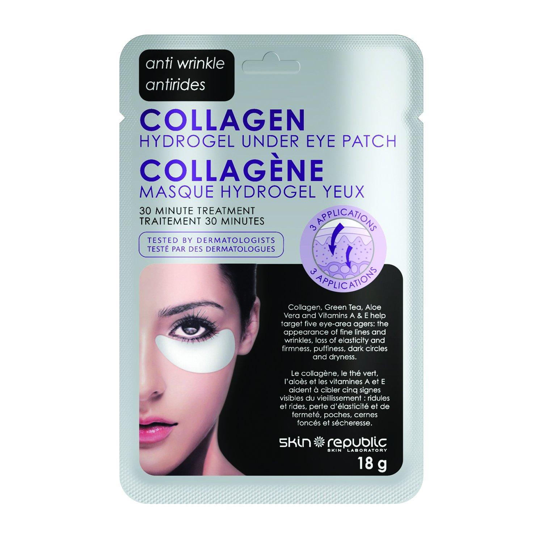 Skin Republic Collagen Hydrogel Under Eye Patch 30 Minute Treatment, 18g SR011