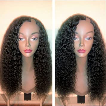 Amazon.com : Curly U Part Wigs for Black