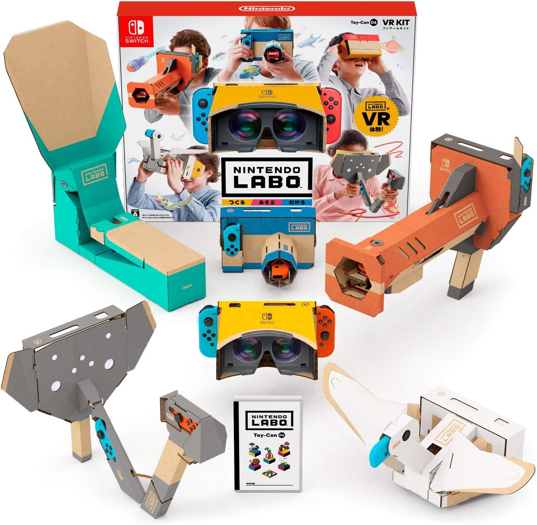 Nintendo Labo Laboratorio Toy-con 04: VR Kit -Switch: Amazon.es: Juguetes y juegos