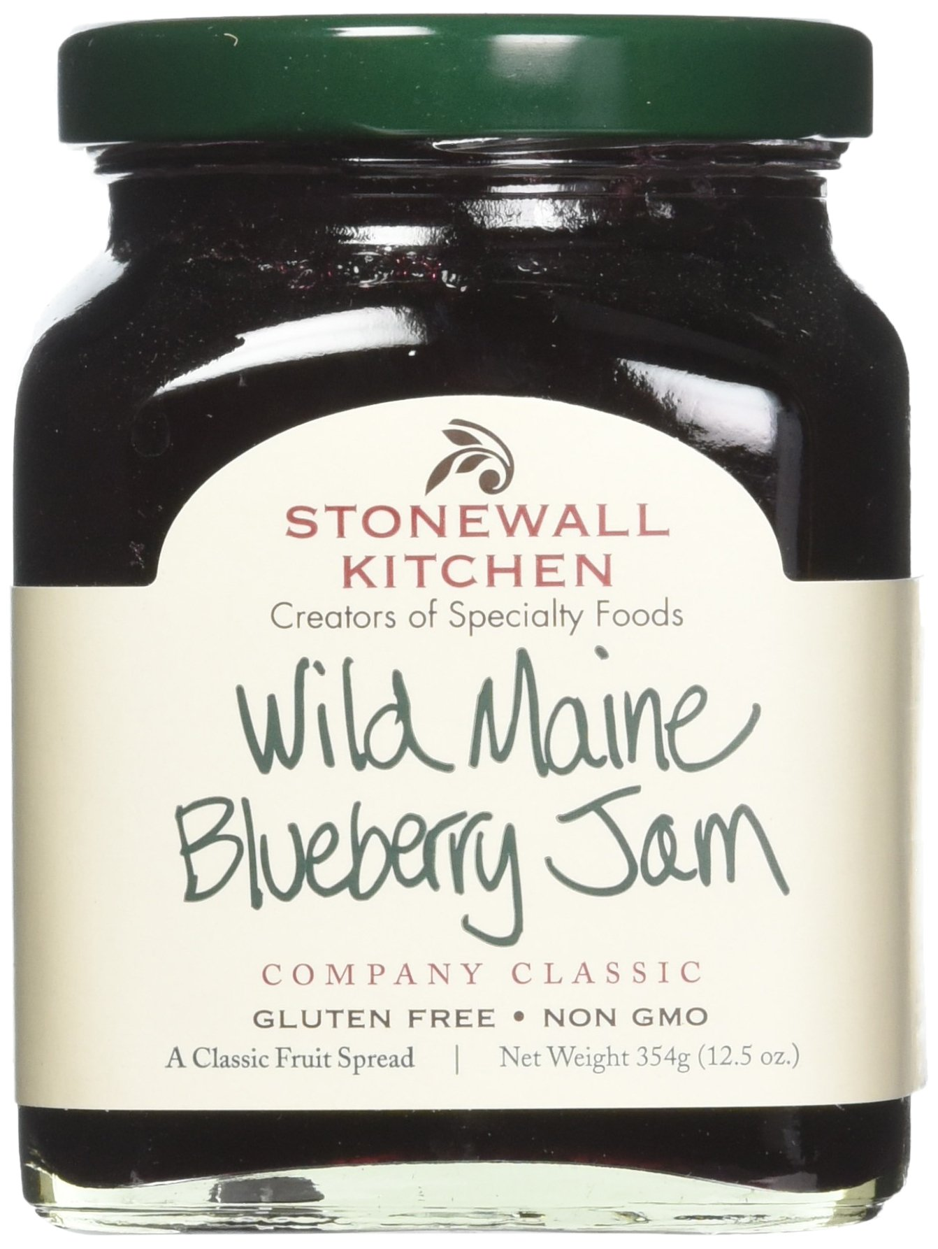 Amazon.com : Stonewall Kitchen Wild Maine Blueberry Jam, 3.75 Ounce ...