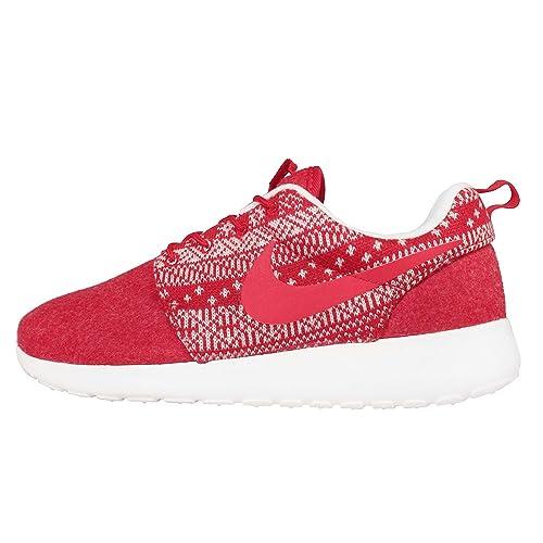 NIKE Da Donna Sneakers WMNS Roshe One INVERNO ROSSOBIANCO 685286661