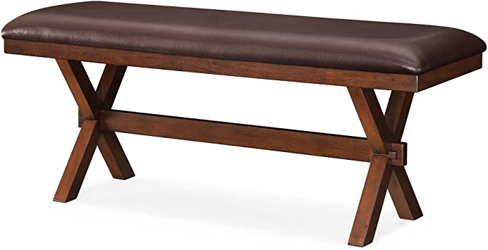 Amazon Com Better Homes And Gardens Maddox Crossing Dining Bench Espresso Table Benches