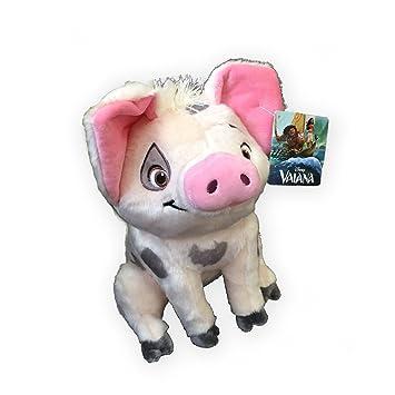 PUA Cerdo Peluche 25cm Felpa de la película Disney MOANA Oceania Vaiana