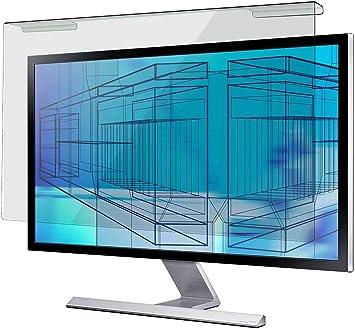 NUSIGN - Panel protector de pantalla de bloqueo de luz azul de 24 pulgadas para computadora de