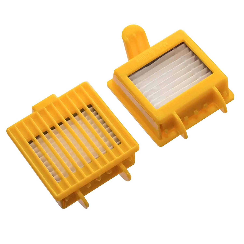 vhbw 2x filtros de aspirador para iRobot Roomba 700, 720, 750, 765 ...