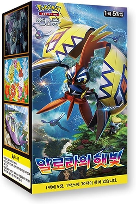 "30 Pack Cartes Pokemon Sun /& Moon /""Guardians Rising/"" BOOSTER BOX //Korean ver"