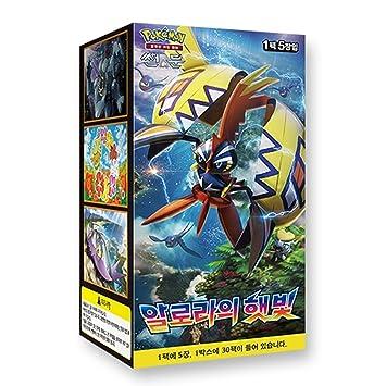 Pokemon Cartas Sun & Moon Booster Pack Caja 30 Packs en 1 ...
