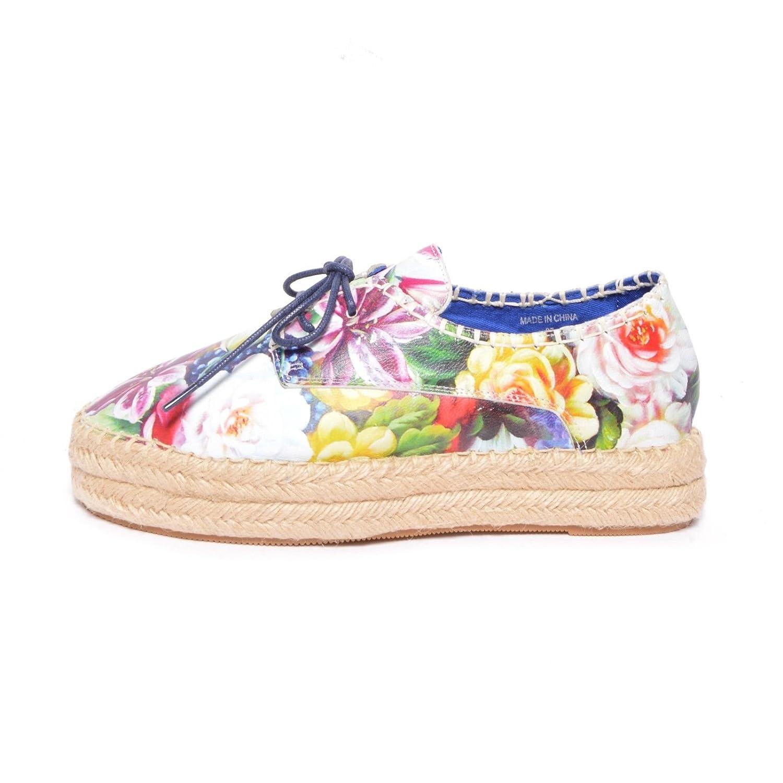Jeffre Campbell scarpe LOTT 2X LEA FLOWER - GREEN (40)  -
