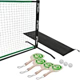 Verus Sports Deluxe Portable Pickleball Set  (Includes 4 Pickleball Paddles, Balls and Net)