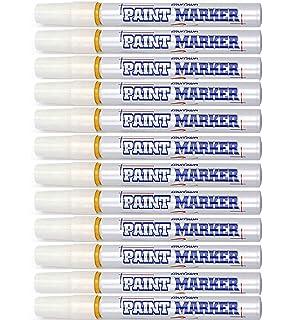 Amazon.com: Lemoning - 12 rotuladores de pintura de metal ...