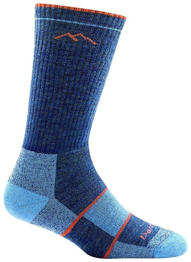 Darn Tough Boot Full Cushion Sock - Women's Denim Large by Darn Tough