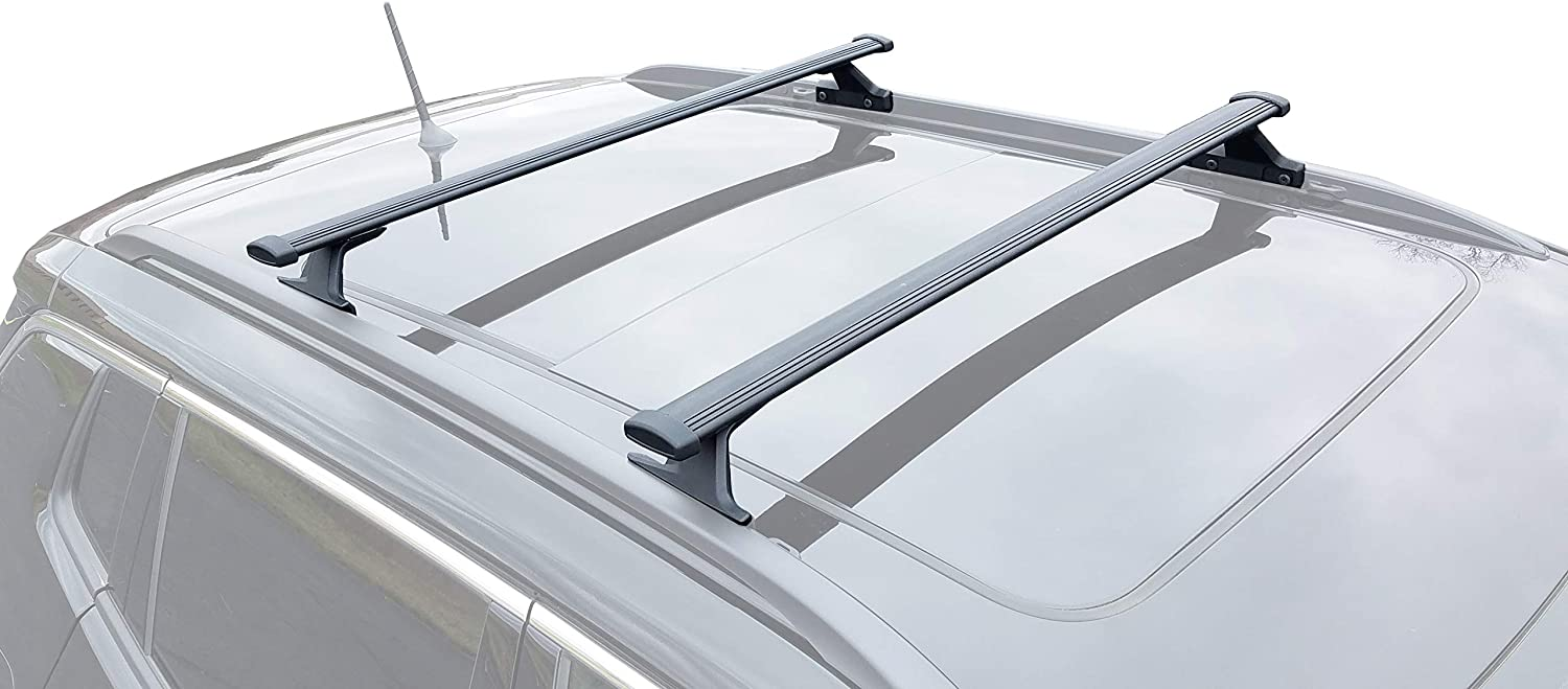 BRIGHTLINES Roof Rack Crossbars Compatible with 2018-2020 Jeep Compass